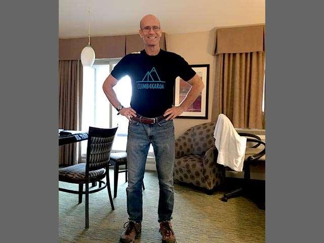 DB-Wearing-KaramFoundation-T-Shirt
