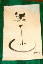 cat-caligraphy